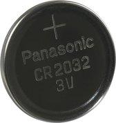 Panasonic CR2032 - DL2032 225mAh 3V lithium knoopcelbatterij - 1 stuk