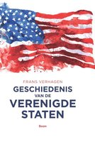 Boek cover Geschiedenis van de Verenigde Staten van Frans Verhagen