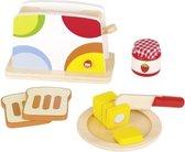 Goki Houten Broodrooster Set 10-delig