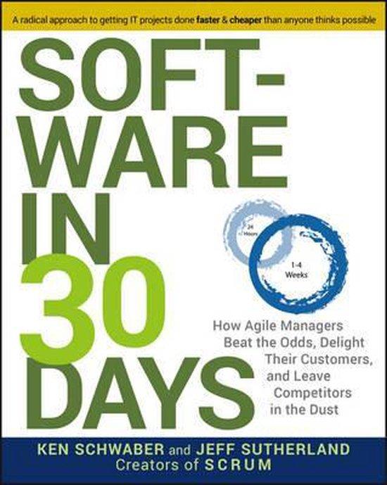 Boek cover Software in 30 Days van Ken Schwaber (Paperback)
