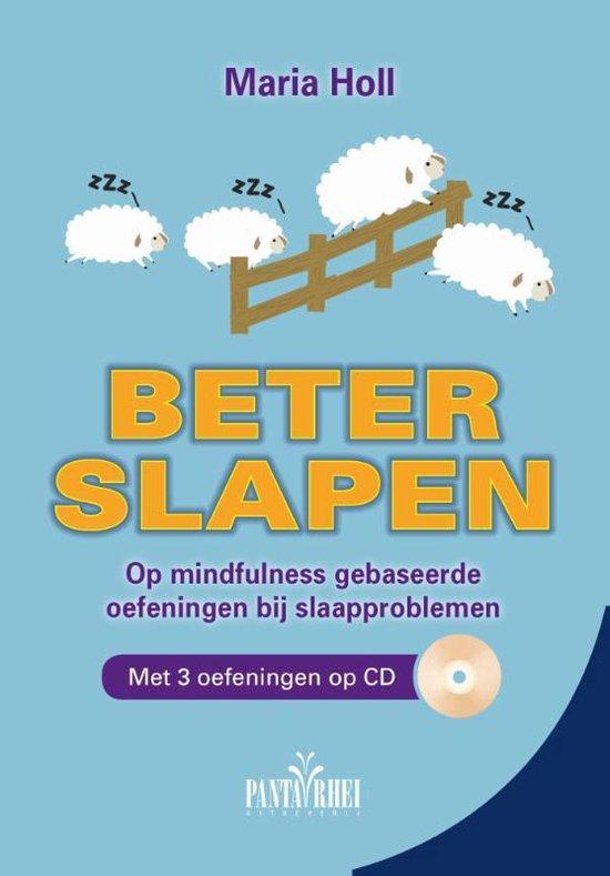 Beter slapen - op mindfulness gebaseerde oefeningen bij slaapproblemen Boek + CD