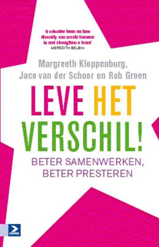 Leve het verschil - Margreeth Kloppenburg |