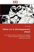 D�bat Sur Le D�veloppement d''haiti