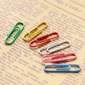 100x Kleine Paperclips |Paperclip| Kantoor / School / Thuis | Paper Clips | Multikleur