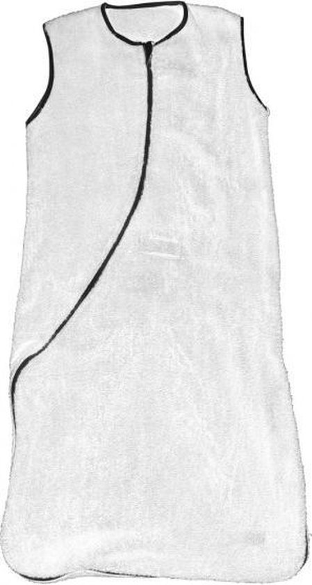 Jollein - Babyslaapzak 90 cm - Wit / Grijs - Jollein