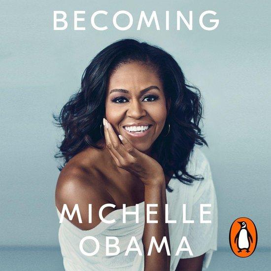 Boek cover Becoming van Michelle Obama (Onbekend)