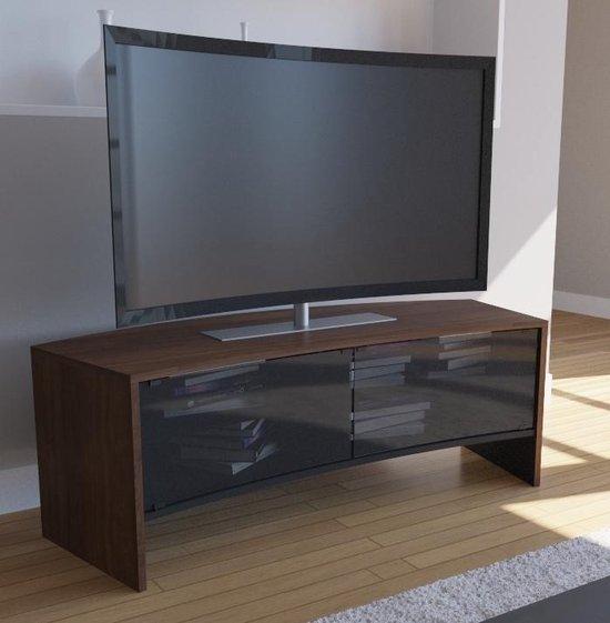 Design Tv Meubel Tweedehands.Bol Com Curved Tv Meubel Curved Tv Kast Curvedo Design Noten