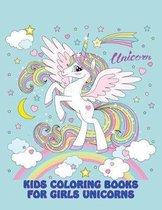Kids Coloring Books for Girls Unicorns