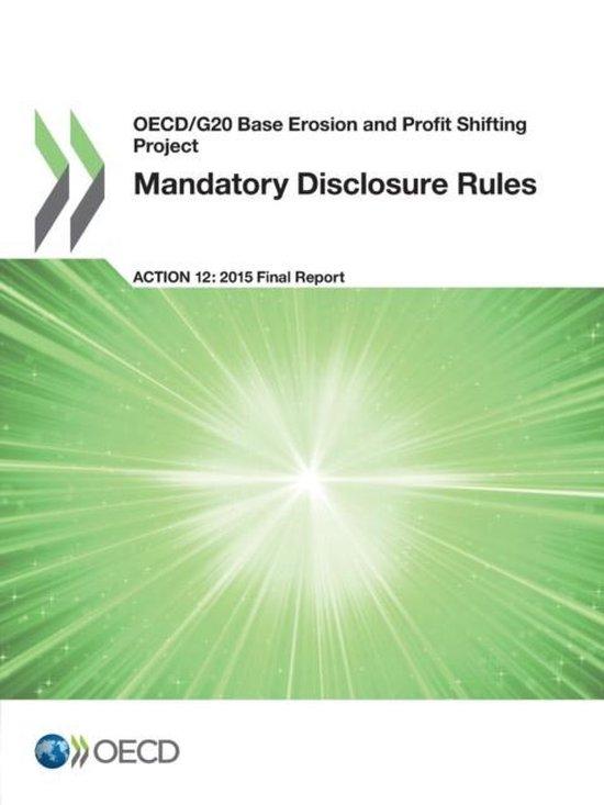 Mandatory disclosure rules