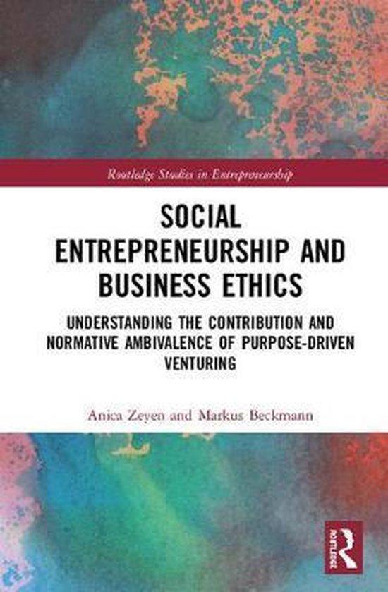 Social Entrepreneurship and Business Ethics