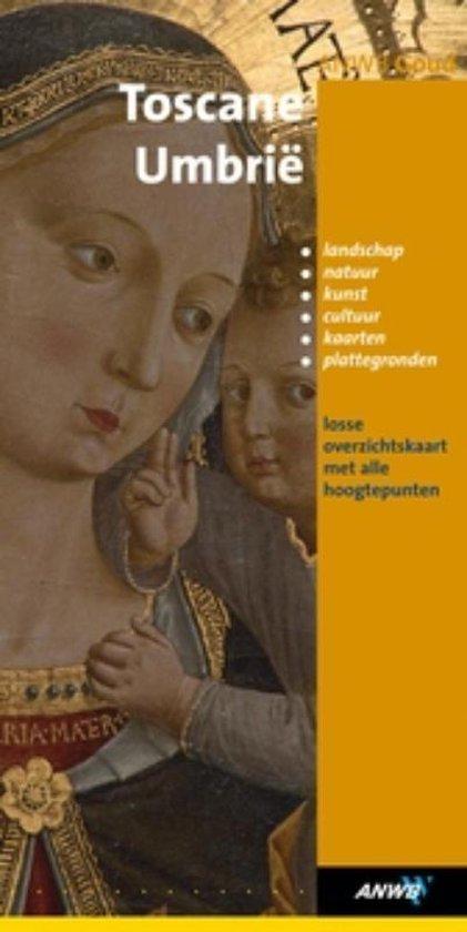 ANWB Goud Toscane Umbrie + Uitneembare Kaart - G. van Leeuwen |
