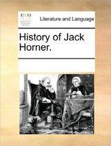 History of Jack Horner