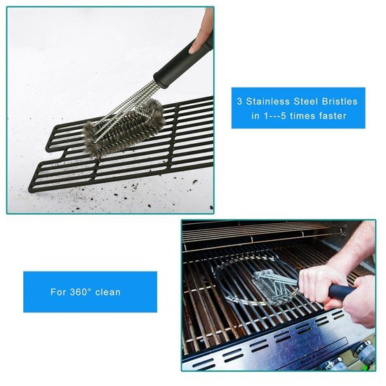 BBQ Grillborstel, Mospro, Barbecue Grill Cleaner Barbecue
