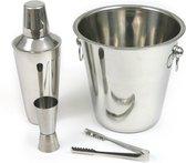 Kinghoff KH-1244 bartending accessoires - Bucket + Shaker