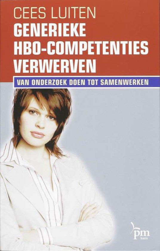 Generieke Hbo-Competenties Verwerven - C. Luiten  