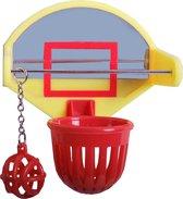 Parkietspeelgoed - Basketball Spel - Vogelspeelgoed - 10 x 7 x 7 cm