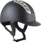 Horka Paardrijcap Arrow Carbon - Zwart  - Horka