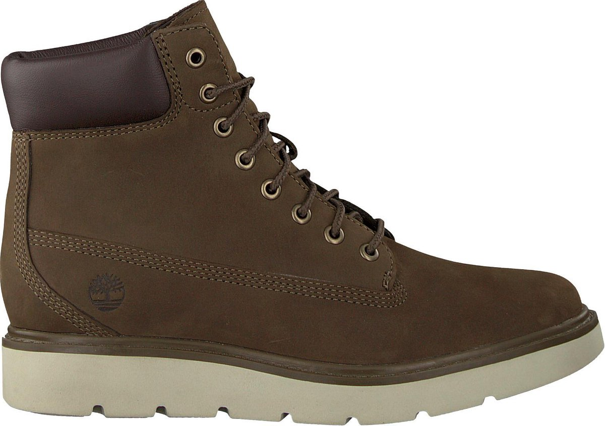 Timberland Dames Veterboots Kenniston 6in Lace Up Groen Maat 38+