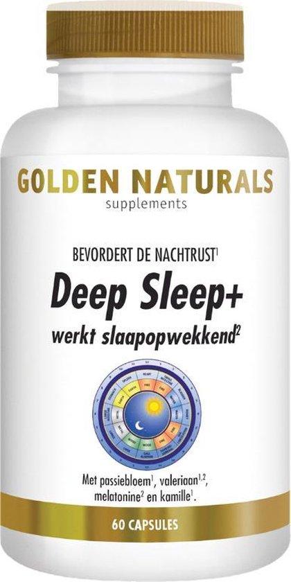 Golden Naturals DeepSleep+ (60 capsules)