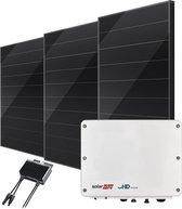 Zonnepanelen compleet pakket - 6 x DMEGC 325Wp - Schuin dak - SolarEdge 2200HD Wave omvormer inclusief bevestiging en aansluiting.