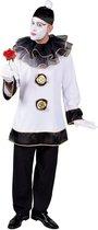 Pierrot Kostuum | Diep Trieste Pierrot Clown | Man | Large | Carnaval kostuum | Verkleedkleding