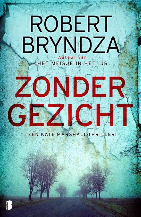 Boek cover Zonder gezicht van Robert Bryndza (Onbekend)