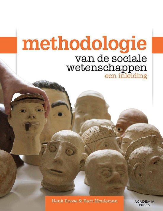 METHODOLOGIE VAN DE SOCIALE WETENSCHAPPEN - Bart Meuleman |
