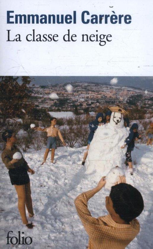 Boek cover La classe de neige van Emmanuel Carrere (Paperback)