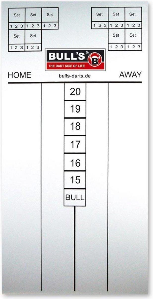 Bull's Scorebord Basic Marker 30 X 60 Cm Wit