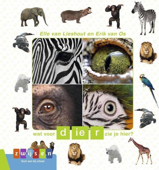 Boek cover Kleuters samenleesboek  -   Wat voor dier zie je hier? van Erik van Os (Hardcover)