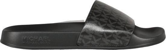 Michael Kors Gilmore Slide Dames Slipper - Black - Maat 36