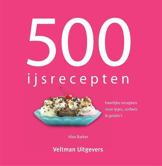 500 ijsrecepten - TextCase  