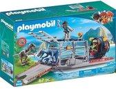 Playmobil luchtjussenboot met dinoikooi