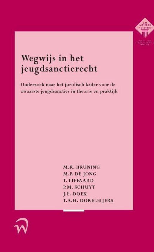 Meijers-reeks - Wegwijs in het jeugdsanctierecht - M.R. Bruning  