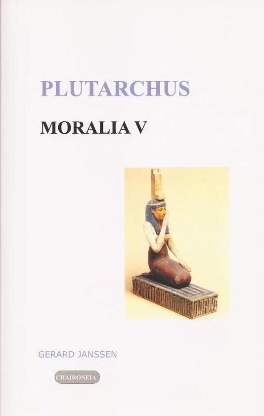 Editio maior - Moralia 5 Griekse en Egyptische godsdienst - Plutarchus |