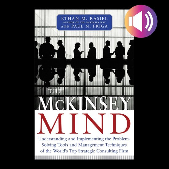 Boek cover McKinsey Mind van Ethan M. Rasiel (Onbekend)