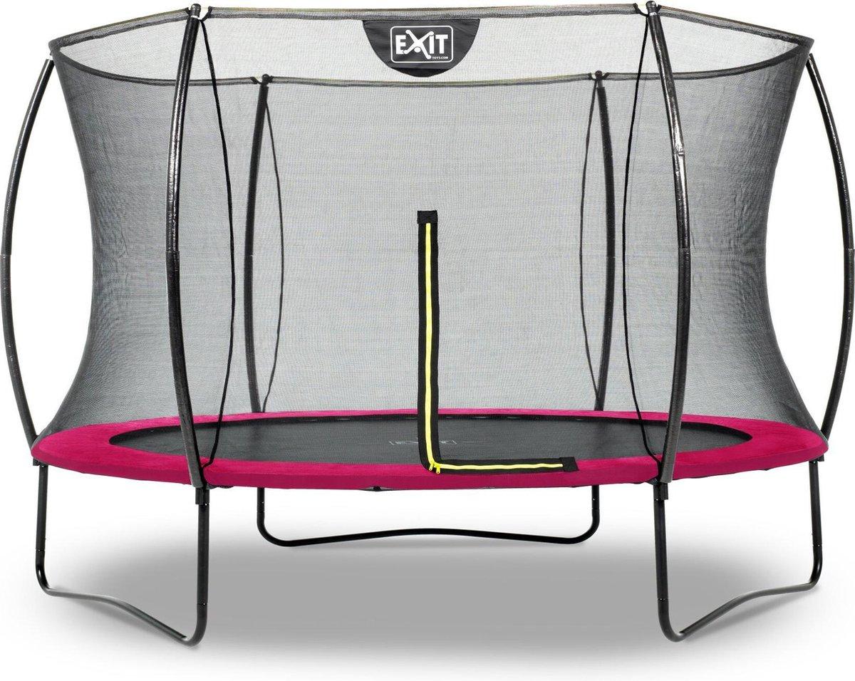 Trampoline EXIT Silhouette - ø305cm - roze