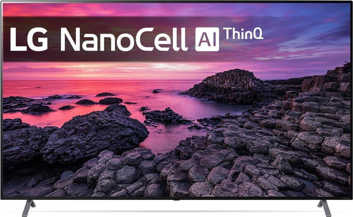 LG NanoCell NANO90 86NANO906NA 139,7 cm (55) 4K Ultra HD Smart TV Wi-Fi Grijs