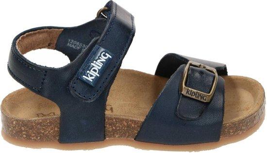 Kipling sandaal, Sandalen, Jongen, Maat 22, blauw