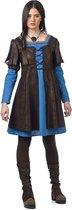 Middeleeuwse & Renaissance Strijders Kostuum | Stoere Middeleeuwse Krijger Jeanne | Vrouw | Maat 46 | Carnaval kostuum | Verkleedkleding