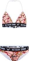 Retour Jeans Meisjes Bikini / Badpak - Old pink - Maat 10