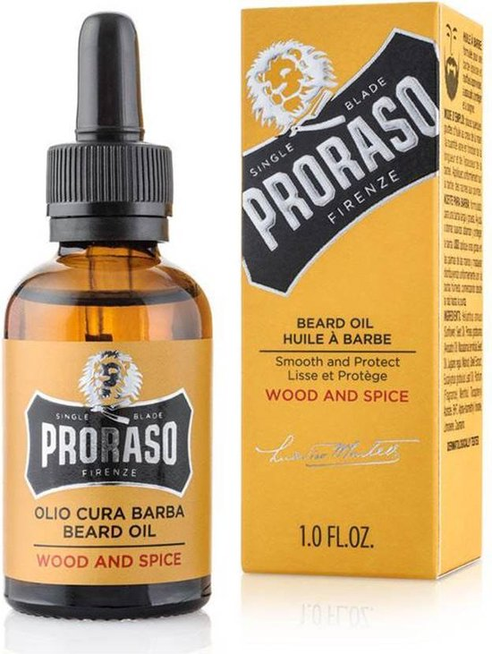 Proraso Baardolie Leave-in Wood & Spice