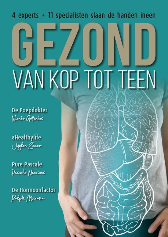 Boek cover Gezond van kop tot teen van Nienke Gottenbos (Hardcover)
