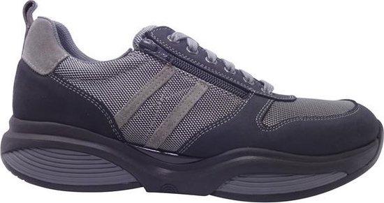 Xsensible Stretchwalker Sneakers SWX3 30073 1 287 Wijdte H Blauw Grijs 42