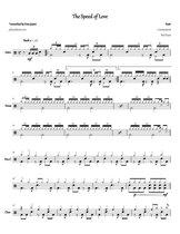 Rush - The Speed of Love: Drum Sheet Music