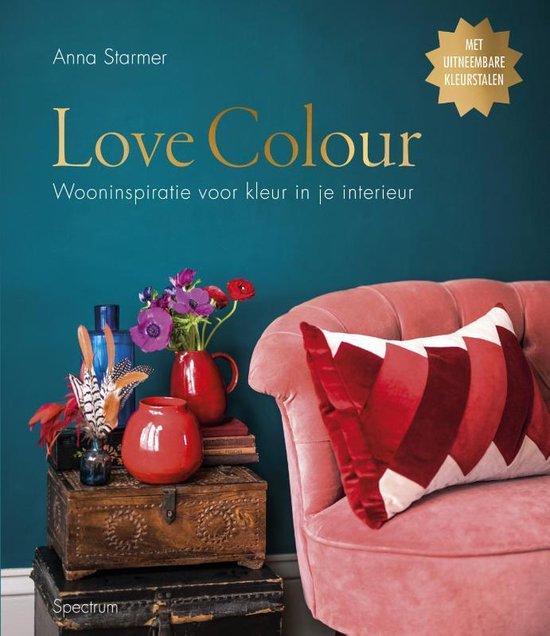 Boek cover Love Colour van Anna Starmer (Hardcover)