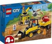 LEGO City 4+ Constructiebulldozer - 60252