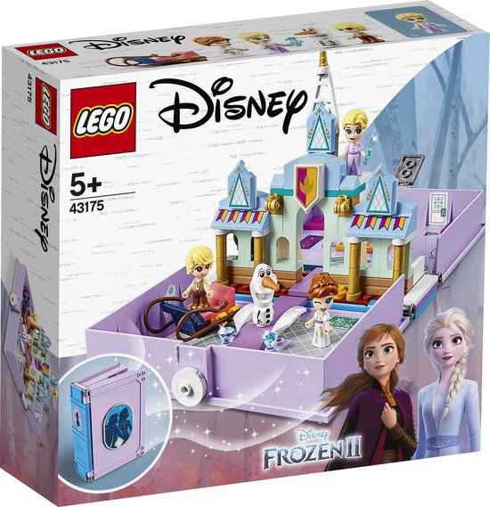 LEGO Disney Frozen 2 Anna's en Elsa's Verhalenboekavonturen - 43175