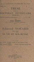 Edmond Nocard, 1850-1903