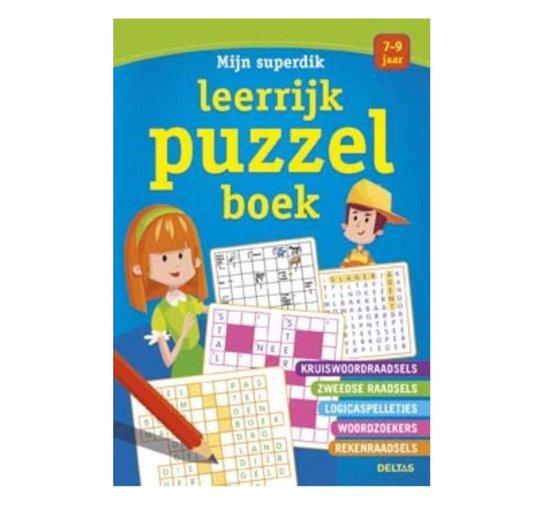 Mijn superdik leerrijk puzzelboek - none |